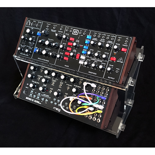 Acrylic Synth Stand Type1 2tier For Volca Boutique Moog